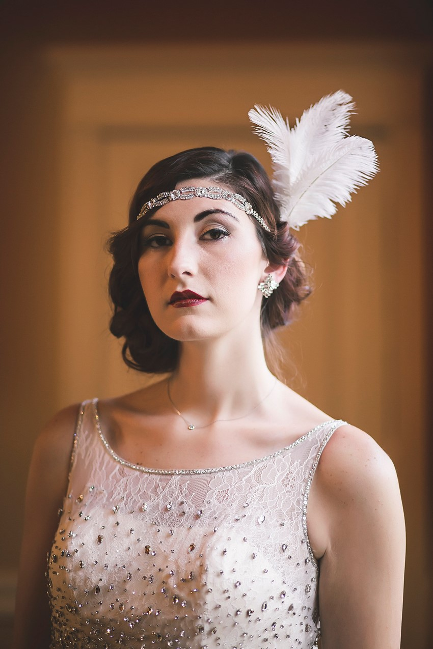 Art Deco Bride - Glamorous Art Deco Wedding Inspiration