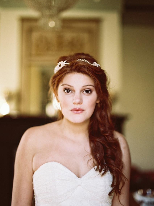 Bridal Hair Accessory - Fine Art Wedding Inspiration