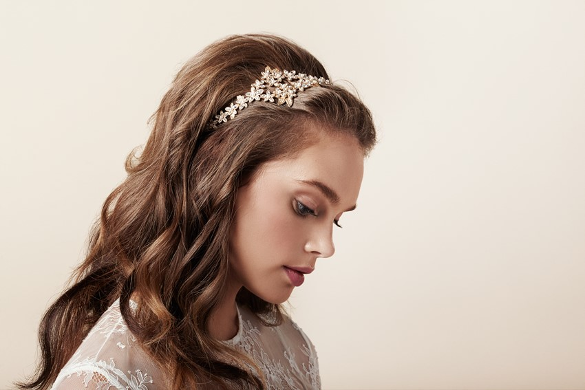 Bridal Headband - The Beautiful New Collection of Bridal Hair Accessories & Jewelry from Elizabeth Bower