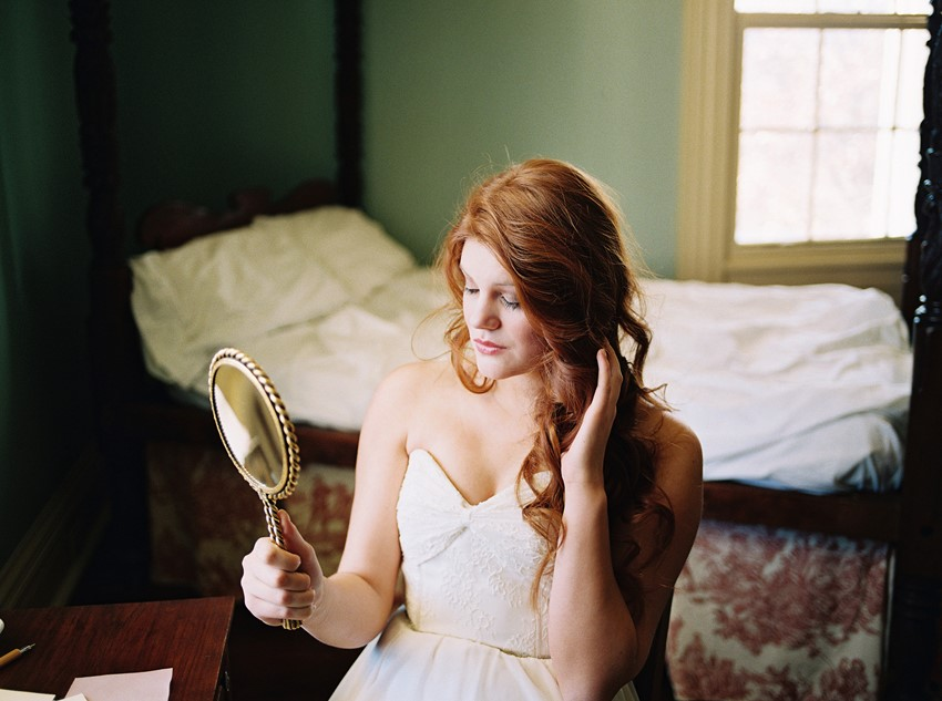 Vintage Bridal Inspiration - A Love Poem Brought To Life