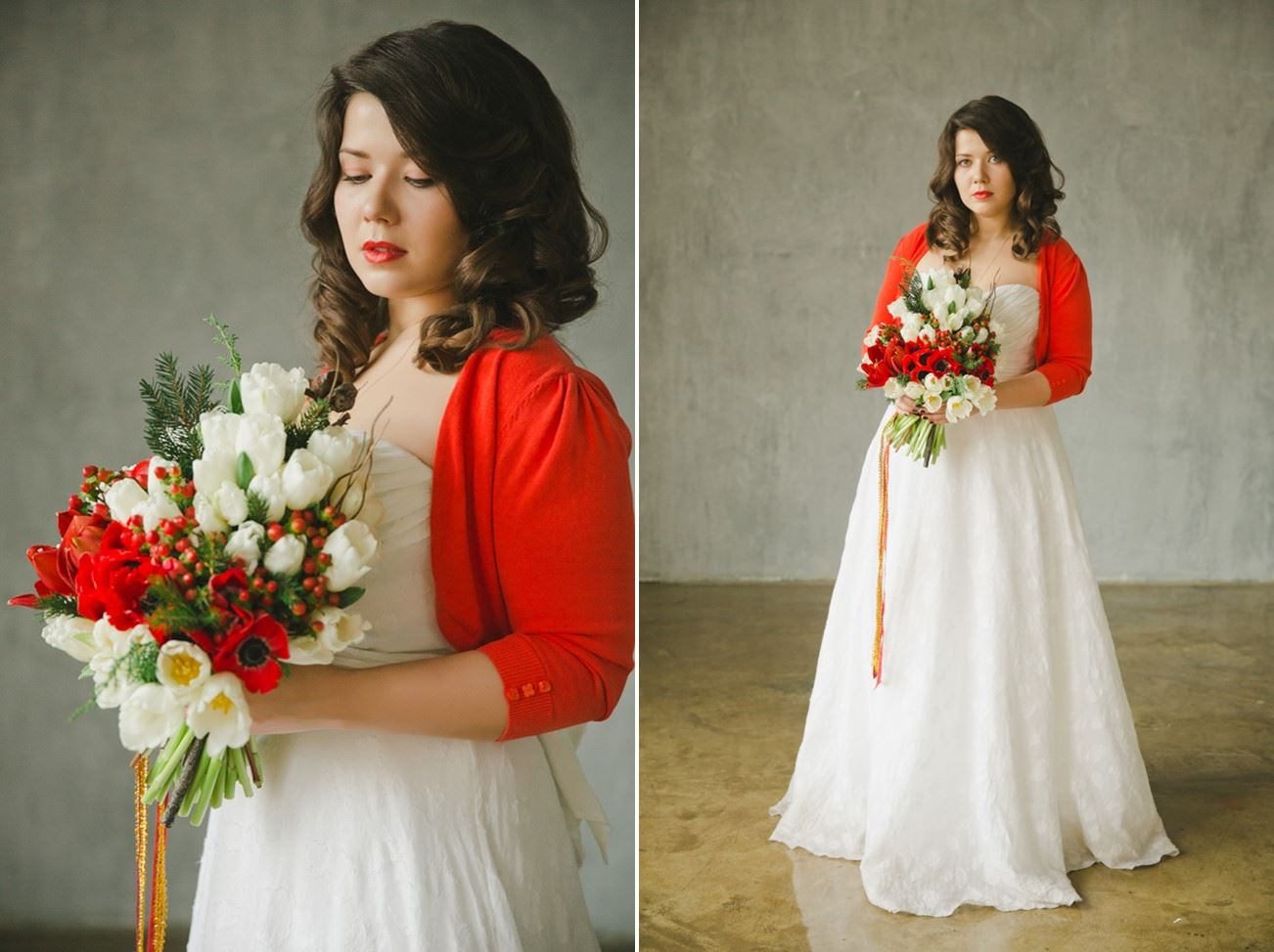 f6a18a72c7b ... Christmas Wedding Dress - A Cosy Winter Wedding Inspiration Shoot in  Red