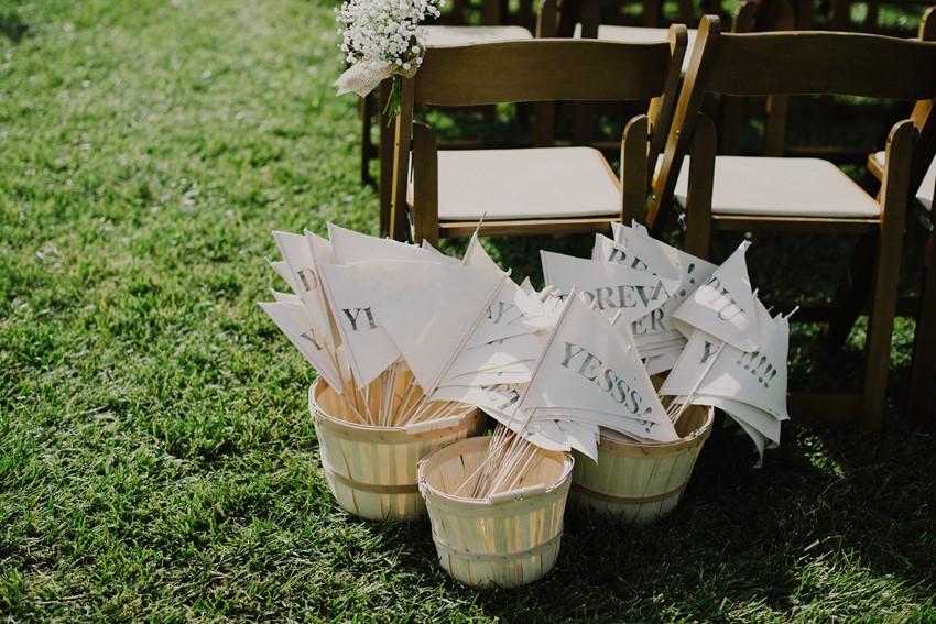 Diy Outdoor Wedding Ceremony Decor An Intimate Outdoor