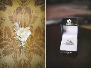 Engagement Ring - Glamorous Art Deco Wedding Inspiration