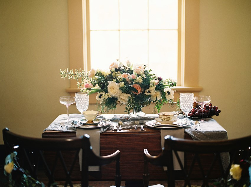 Vintage Sweetheart Table - A Love Poem Brought To Life