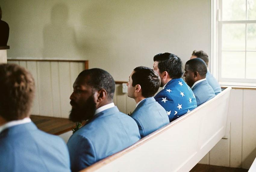 Groomsmen - A Vintage Americana Wedding
