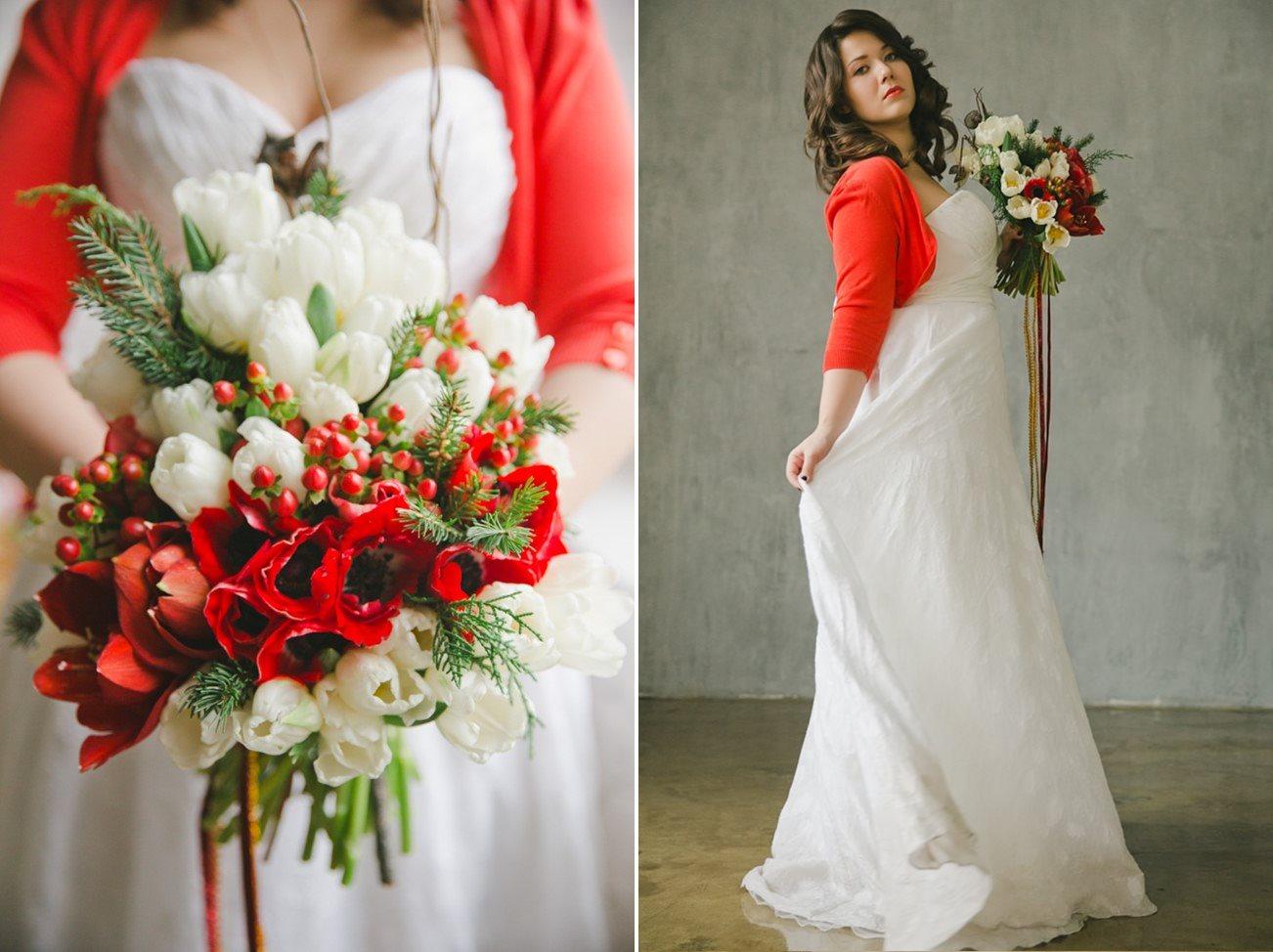 A Christmas Bride.A Fairytale Christmas Wedding Inspiration Shoot Chic