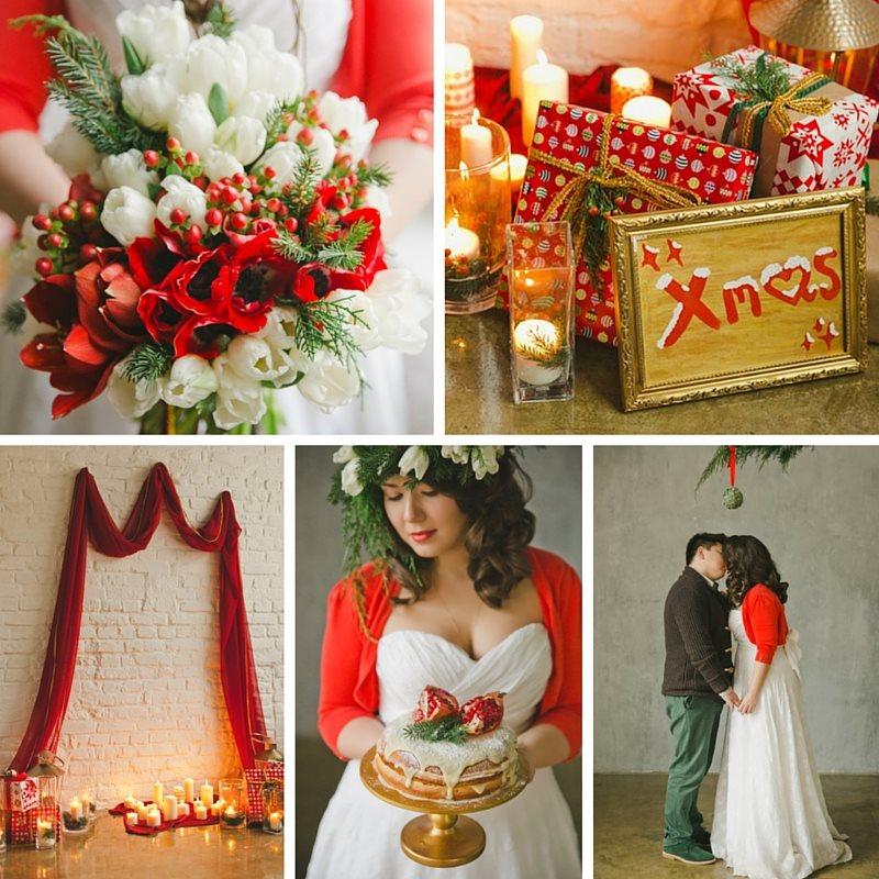 A Cosy Christmas Wedding Inspiration Shoot from WarmPhoto