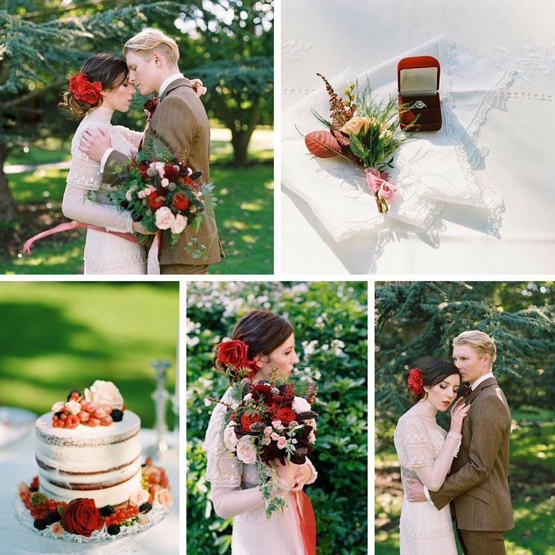 True Romance - A Fine Art Wedding Inspiration Shoot with Edwardian Elegance