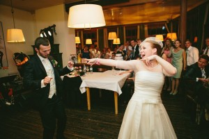 First Dance - A Sweet 1950s Infused Wedding with a Jackie Kennedy Inspired Wedding Dress