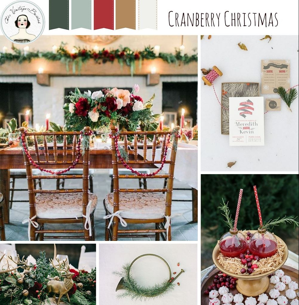 Christmas Wedding Colors.Christmas Wedding Inspiration In A Traditional Colour