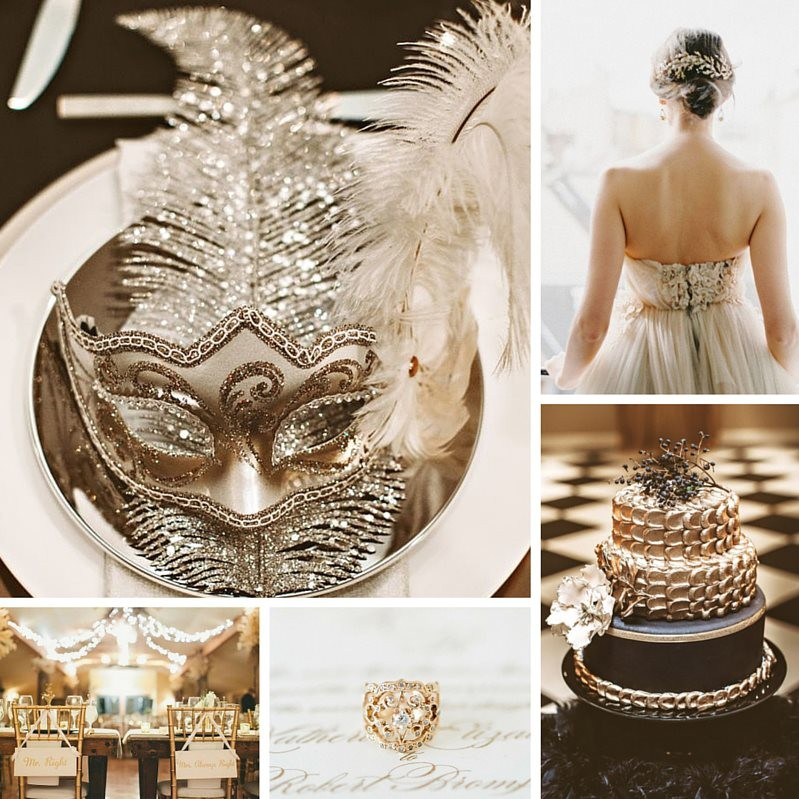 Glamorous new years eve wedding ideas in black gold chic glamorous new years eve wedding ideas in black gold chic vintage brides junglespirit Gallery