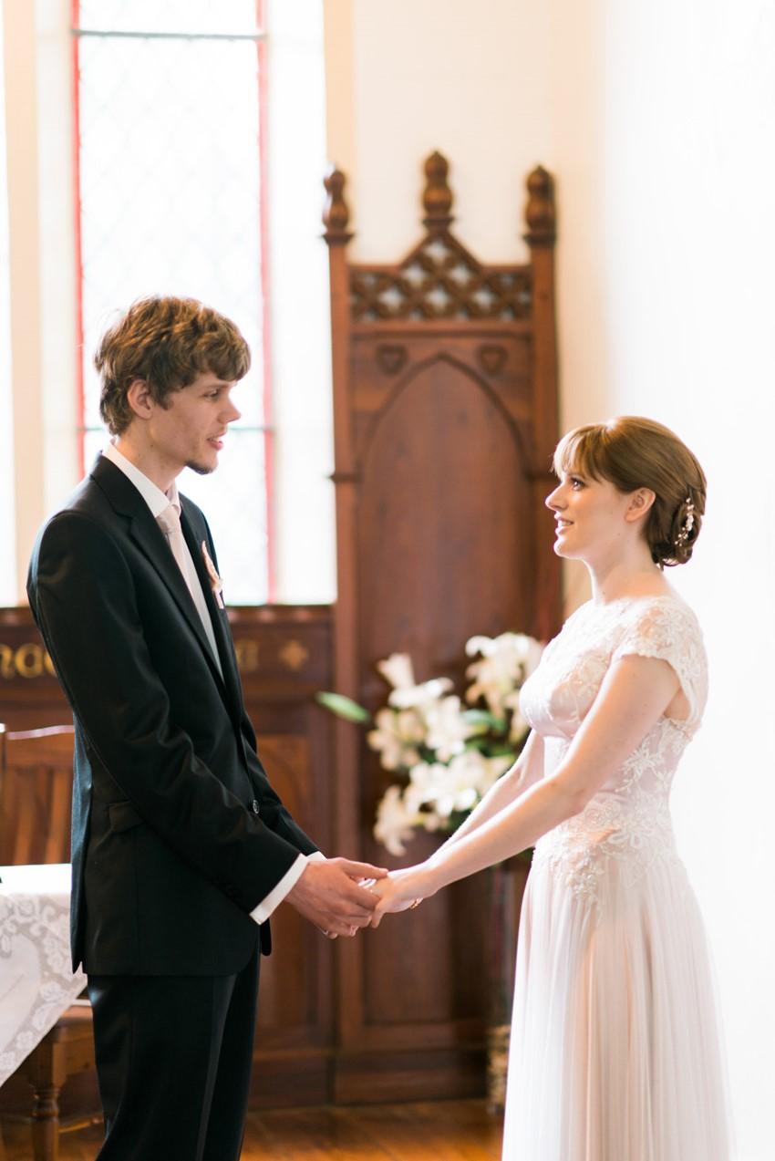 Quaint Church Wedding Ceremony