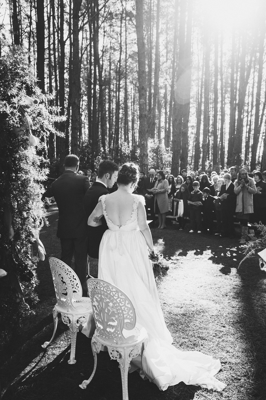 Beautiful Wedding Ceremony Portrait Idea