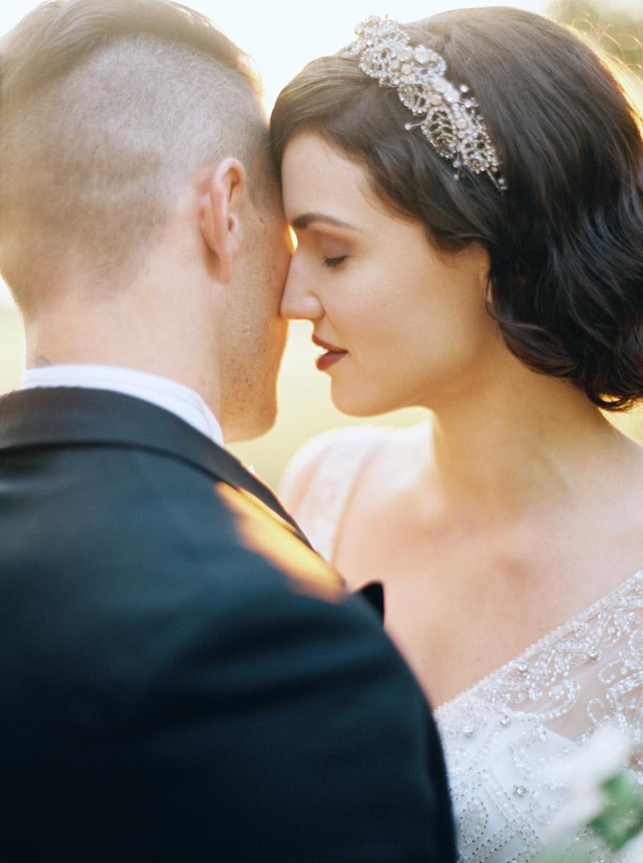 Art Deco Bridal Look