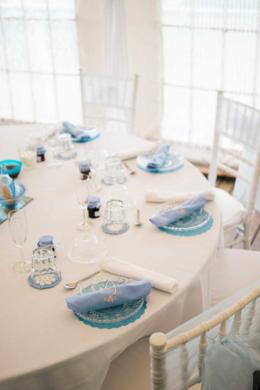 Vintage Marquee Wedding Reception