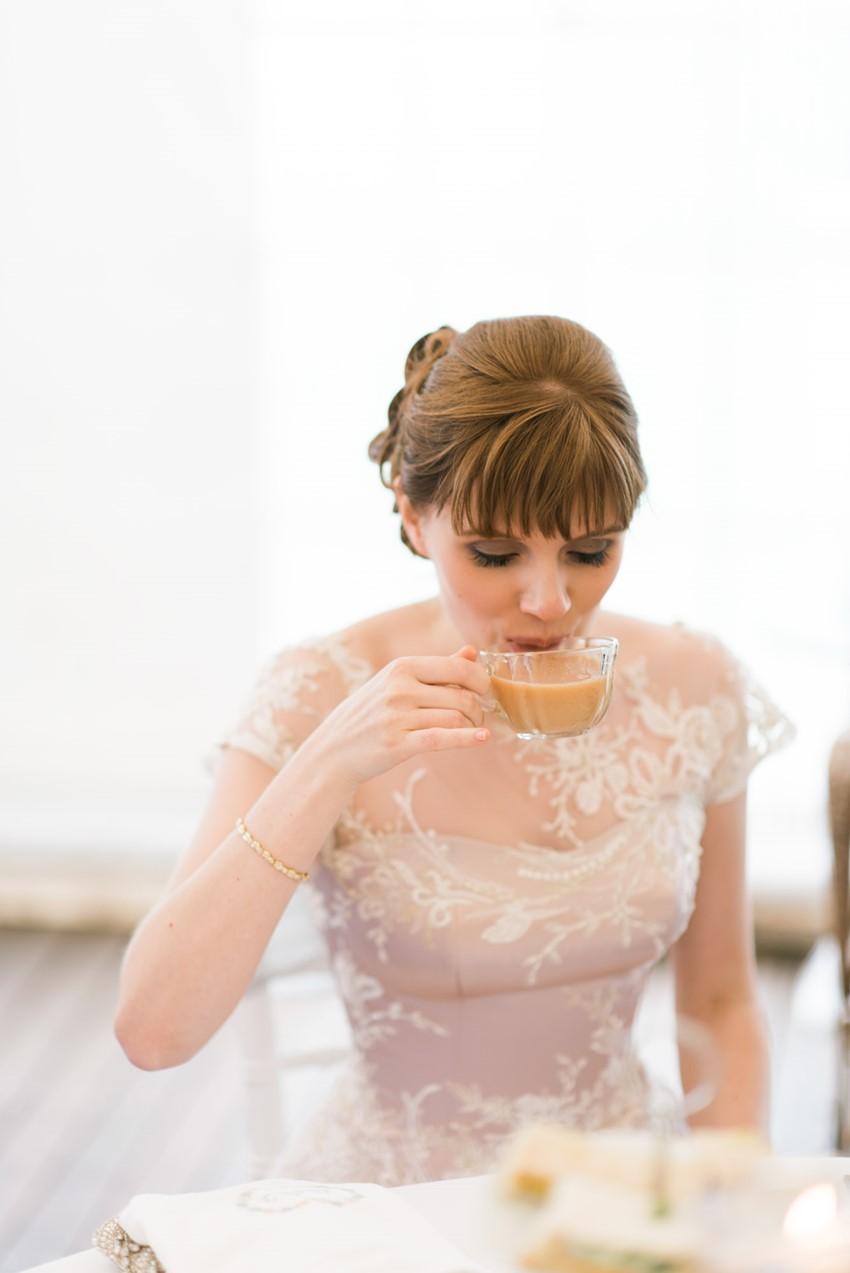 High Tea Wedding Reception