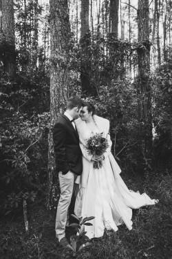 Beautiful bride & groom portraits