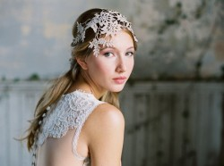 Wyoming - Beautiful lace wedding dress from Claire Pettibone
