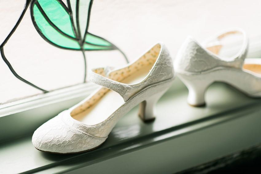 Vintage Lace Bridal Shoes