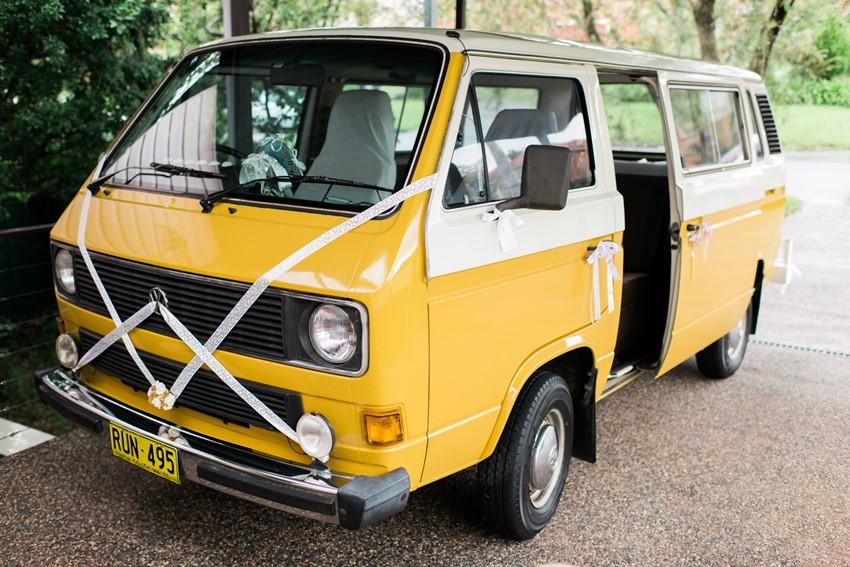 Vintage VW Camper Van