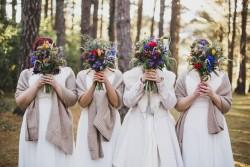 Fab bride & bridesmaids portraits