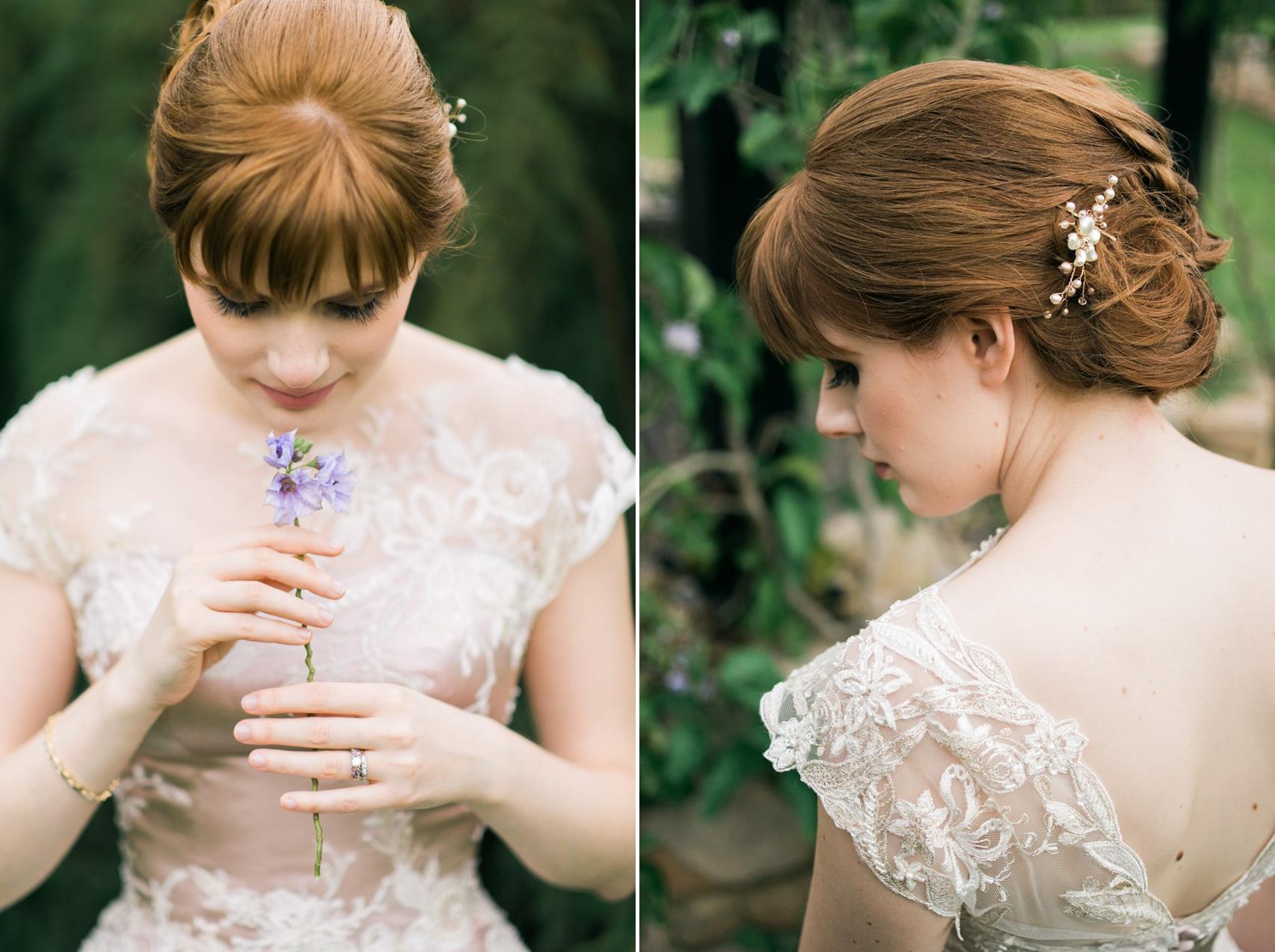 Vintage Inspired Bridal Hair & Makeup