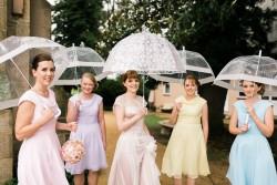 10 Unique & Creative Bridesmaid Bouquet Alternatives - Umbrellas