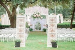 Romantic Outdoor Ceremony Decor
