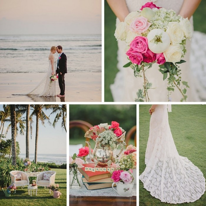 A Beautiful English Country Garden Wedding Inspiration Shoot in Bali
