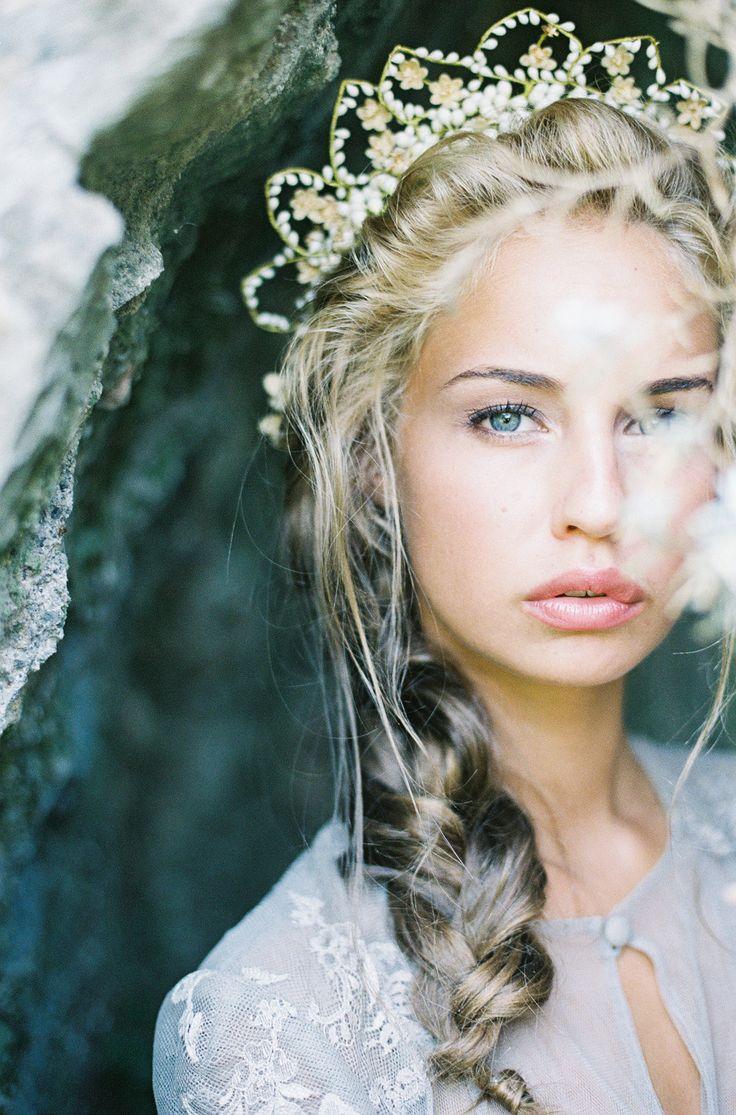 Wax Flower Crown
