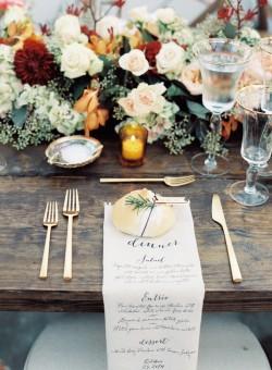 An Elegant & Intimate Autumn Wedding from Austin Gros Photography