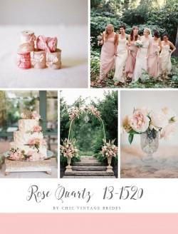 Rose Quartz Wedding Inspiration