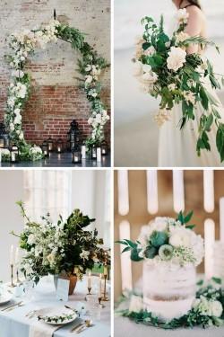 Latest Wedding Trend - Greenery