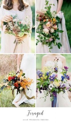 Wedding Trend - Foraged