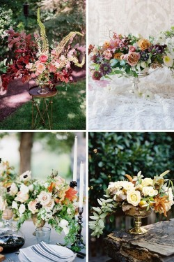 Top Wedding Trends - Foraged Centrepieces
