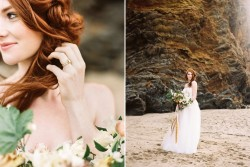 Dramatic and Romantic Coastal Wedding