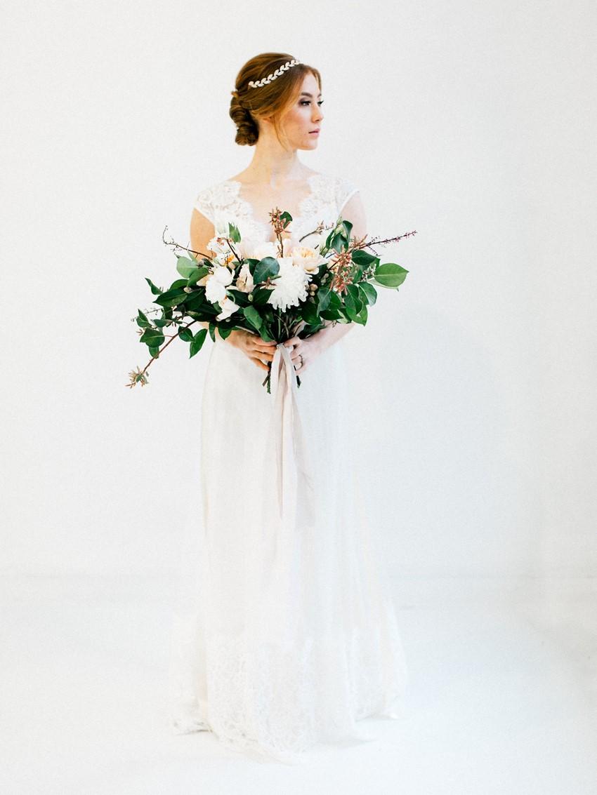 Beautiful Fine Art Bridal Portrait