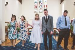1950s Inspired Wedding