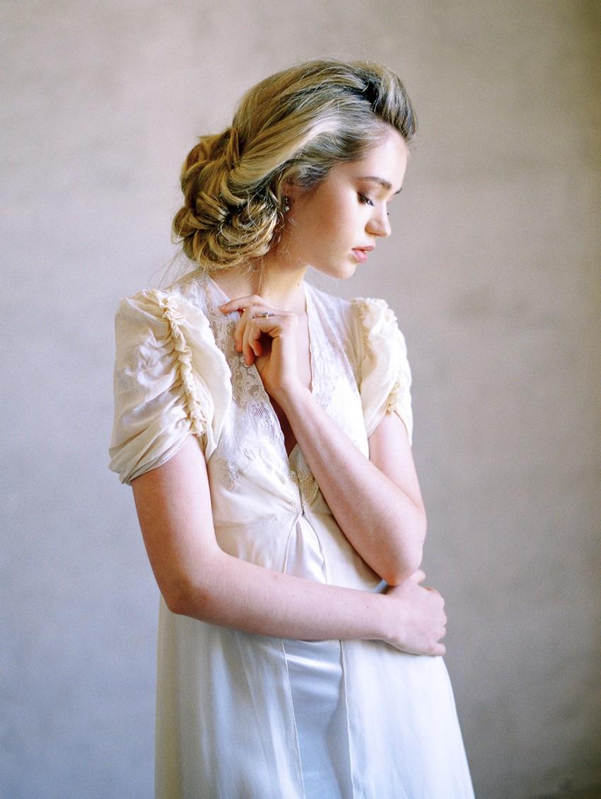 Vintage Bridal Look