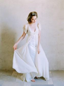 Romantic Vintage Bridal Gown