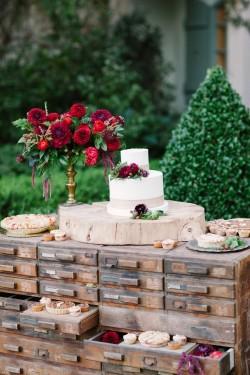 Valentines Day Wedding Cake