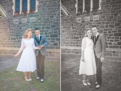 Vintage Wedding Portraits