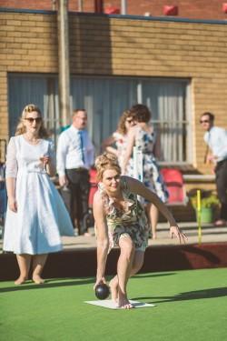 Bowling Club Wedding Reception