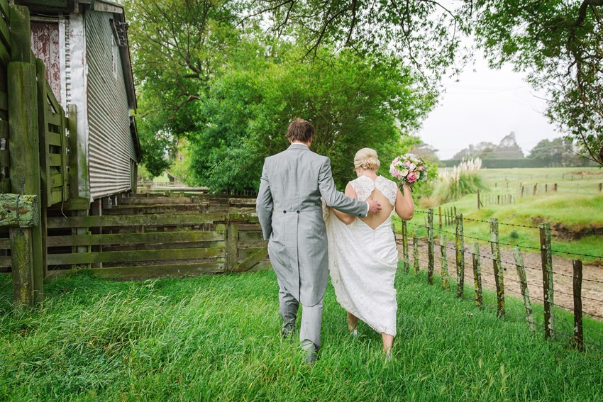 Rustic Vintage Bride & Groom