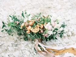 Modern Vintage Bridal Bouquet