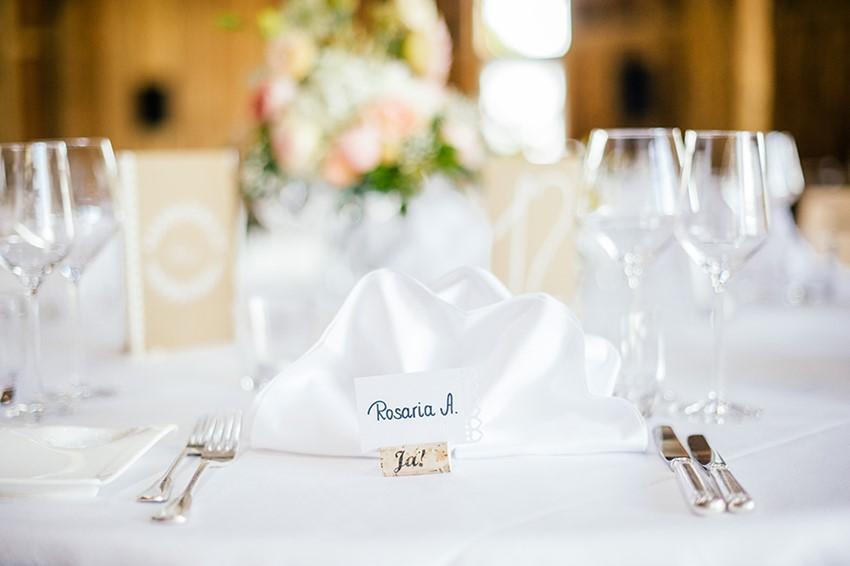 Elegant Wedding Place Setting