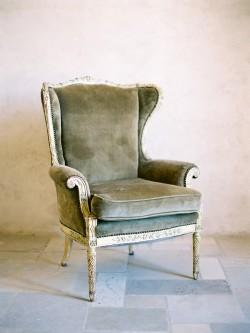 Velvet Vintage Chair