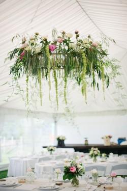 Floral Wedding Chandalier