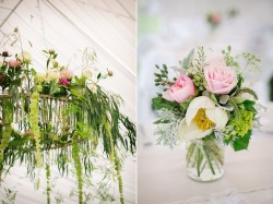 Floral Wedding Centrepieces