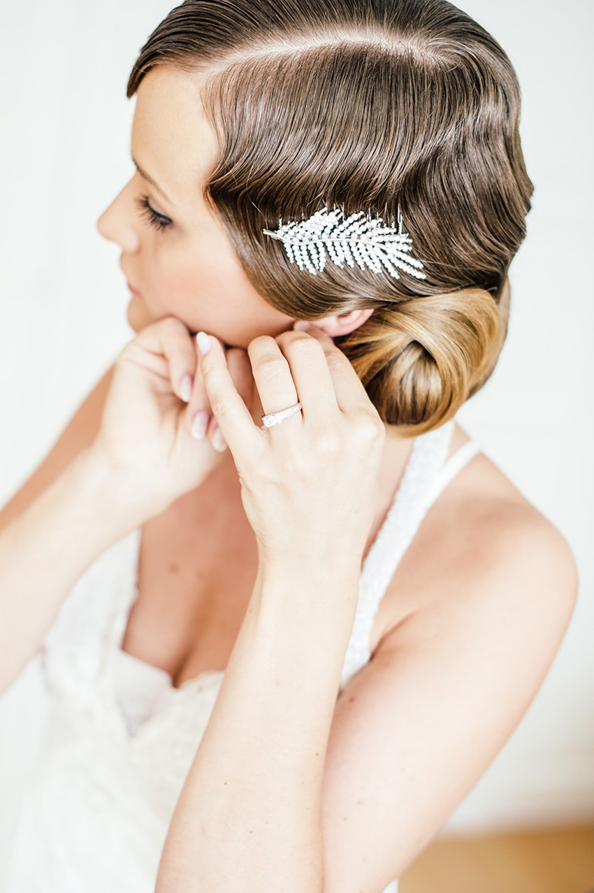 1920s Inspire Bridal Updo